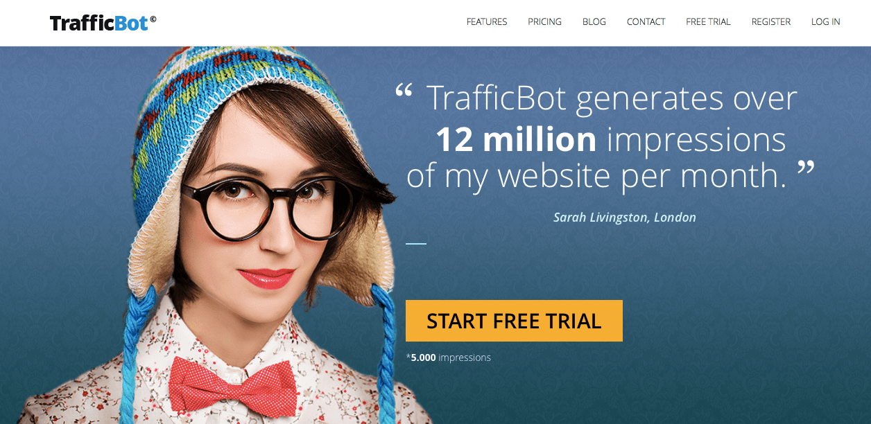 website traffic - trafficbot